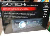 SONICHI SB50-DAB car stereo