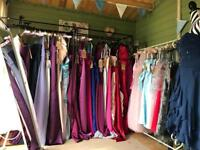Selection of Prom/bridesmaid dresses