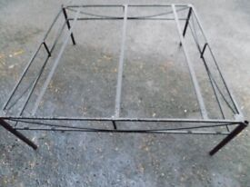 Heavy cast iron large table frame