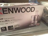 Kenwood True food processor multipro compact FPP215 unopened