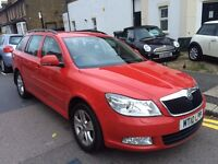 SKODA OCTAVIA 1.4 TSI AUTOMATIC RED 2010 LEATHER SEATS FULL COMPREHENSIVE HISTORY MINT CAR 1 KEEPER