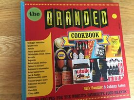 The Branded Cookbook by Nick Sandler & Johnny Acton (hardback)