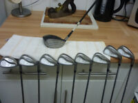 Taylormade RAC golf clubs/ Irons. Plus Taylormade driver