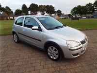 2006 / 06 plate Vauxhall Corsa 1.2 SXI 16V twinport, 3 DR , Silver , 93000 miles, MOT