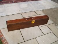 FWB Original Wooden Air Rifle Carrying Case