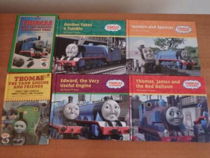 Thomas the Tank Engine books x6 plus Snap cards