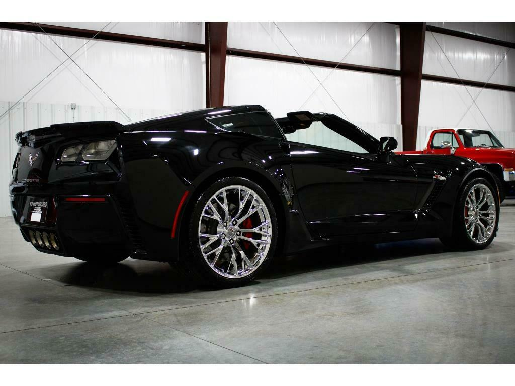 2016 Black Chevrolet Corvette Z06 3LZ | C7 Corvette Photo 5