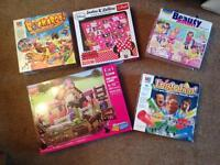 Games, Lego and puzzle bundle
