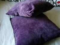 Two cushion