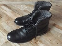 BRAND NEW MENS BLACK DESIGNER BOOTS