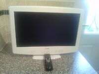 Bush 22 inch TV with DVD.