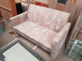 Ex display 2 seat sofa. WAS £220.00 NOW ONLY £50.00!!