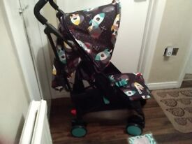 Brand new Cosatto space racer pushchair with raincover