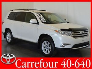 2013 Toyota Highlander V6 AWD Bluetooth+Camera de Recul 7 Passag