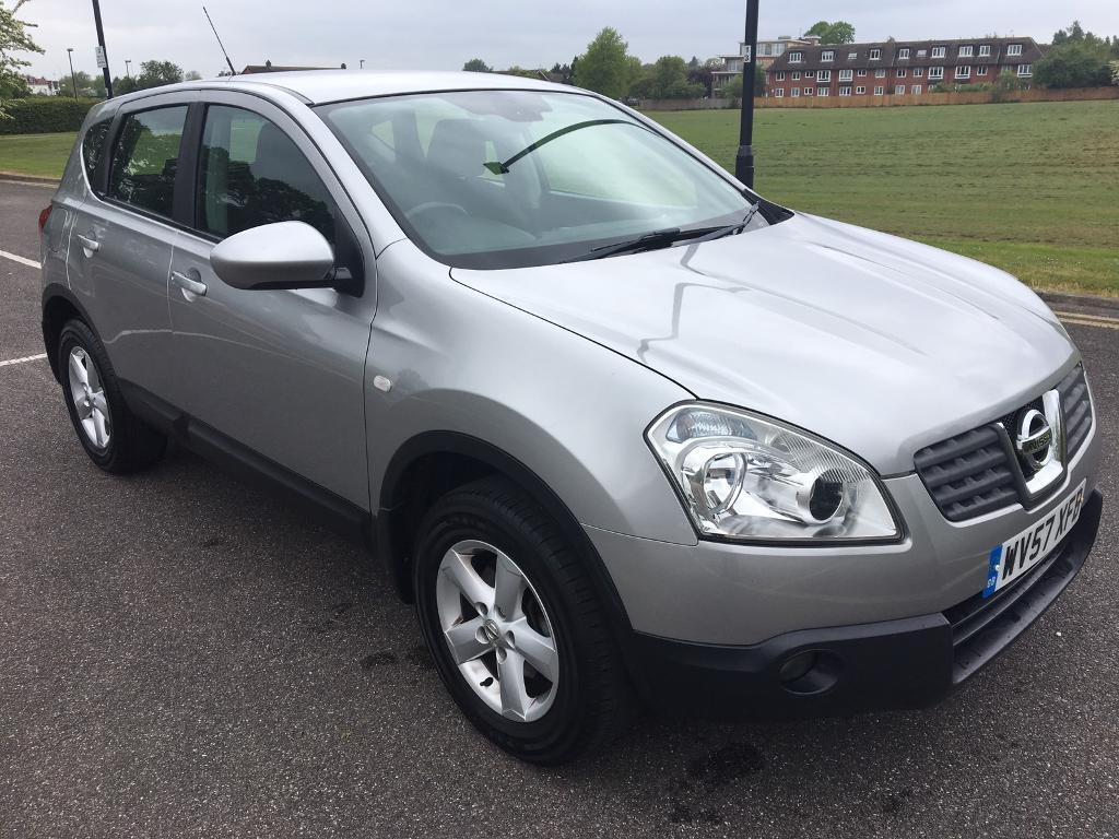 2008 nissan qashqai acenta dci 1 5 silver manual diesel 88k mileage in harrow london gumtree. Black Bedroom Furniture Sets. Home Design Ideas