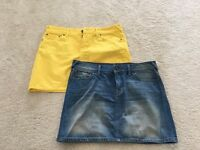 Jack Wills Denim Skirts Size 12 NEVER WORN