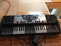 Yamaha DJX keyboard.