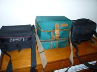 3 Camera / photography bags - ideal for fishing too