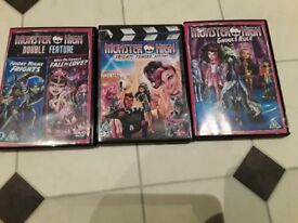 Monster high DVDS