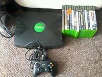 Original xbox with 15 games
