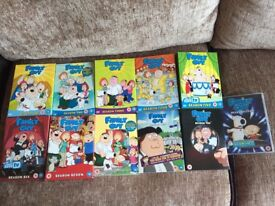 Family Guy DVD Box Sets (Season 1-11)
