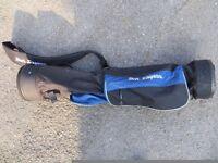 Ben Sayers lightweight portable golf bag x2