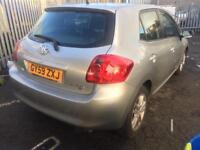 2010 toyota auris 1.3 vvti tr 1 p owner low mls long mot v v pocket friendly hpi clear mega bargain