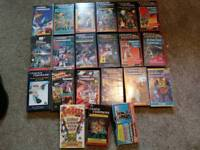 Original 1980s transformers vhs tapes
