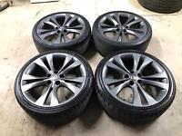 "Genuine 20"" Vauxhall Insignia Double Spoke Alloys & Tyres"