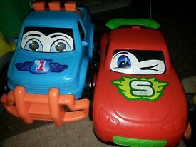 Toy large toy cars