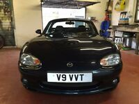 Mazda MX-5 1.8 Sport - HARD ROOF INCLUDED, dark blue, low mileage, extremely reliable