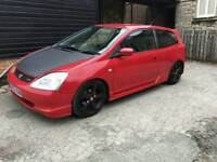 Honda 1.6 vtec sport ep2 type r replica swaps welcome