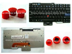 New for IBM Lenovo Thinkpad W500 Z61e Z61m Z61p Keyboard w/ 3pcs FREE Trackpoint