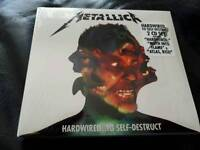 SAME DAY DESPATCH!! BRAND NEW & SEALED Metallica hardwired to self-destruct 2 CD