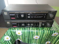 Amplifier SANYO JA240 and SANYO tuner JT240L