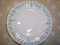 "Royal Albert ""Memory Lane"" dessert plates"