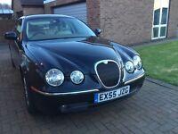 Jaguar S Type 2.7 Diesel Automatic 4 Door Sallon Black with cream leather interior