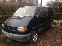 Vw transporter t4. Spares or repairs