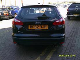 FORD FOCUS 2.0 TDCi Titanium Powershift Auto (black) 2012