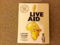 Live Aid (DVD, 4-Disc Set, Box Set) THE 1985 CONCERT