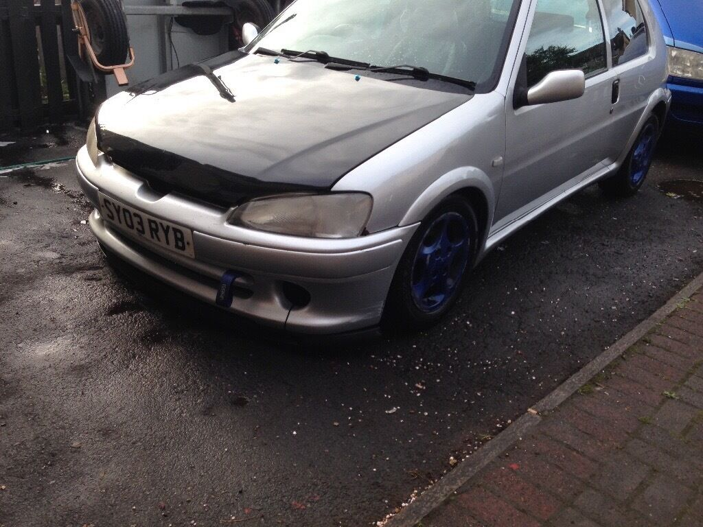 peugeot 106 quicksilver vts conversion in bellshill. Black Bedroom Furniture Sets. Home Design Ideas