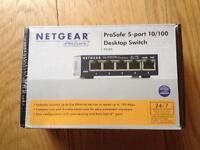 Netgear Prosafe Desktop Switch - New