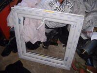 brand new still sealing d/glazed upvc window