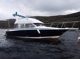 bayliner 28ft flybridge 245 hp turbo deisel
