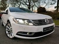 (Facelift) 2013 Volkswagen CC Gt BMT 2.0 Tdi 140bhp £30 ROAD TAX! Red Leather! Sat Nav! 74K! FINANCE