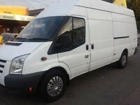 COMPANY MAN-TEND LWB HIGH ROOF FORD TRANSIT VAN FOR SALE WITH EXCELLENT CONDITION