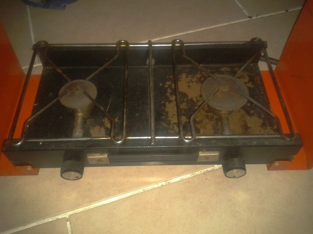Double ring folding gas camper camping stove | in Wigton, Cumbria ...