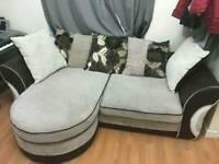 Beautiful DFS left/right corner sofa