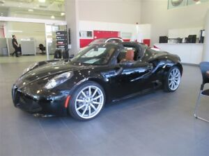 2016 Alfa Romeo 4C Spider SPIDER TRACK PACKAGE 4 WOW!