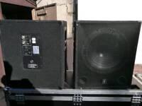 """DJ PA Active 15"""" QTX subwoofer"""